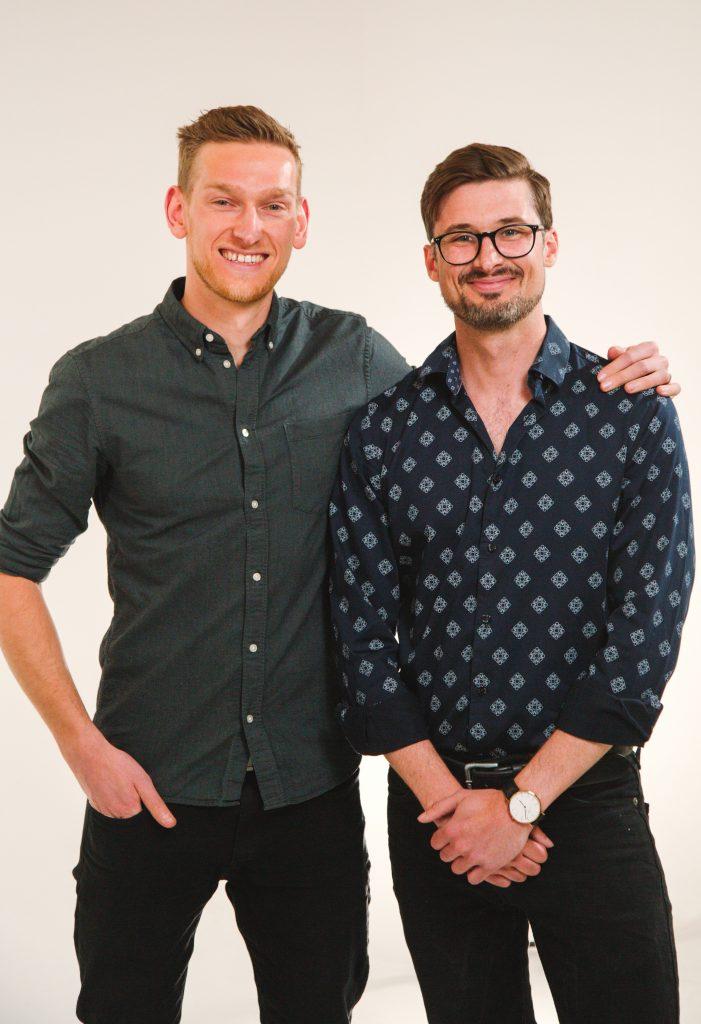 Craig and Adam